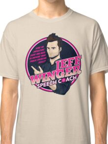 Jeff Winger: Speech Coach Classic T-Shirt