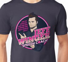 Jeff Winger: Speech Coach Unisex T-Shirt
