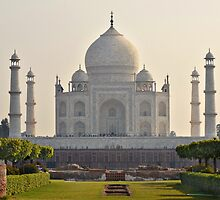 The Taj Mahal by Peter Hammer