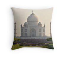 The Taj Mahal Throw Pillow