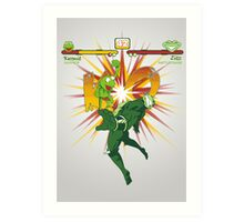 SWAMP FIGHTER Art Print