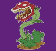 Bloodied Piranha Plant T-Shirt