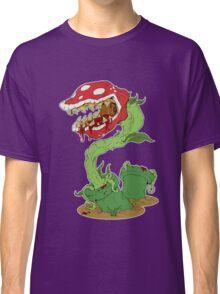 Bloodied Piranha Plant Classic T-Shirt