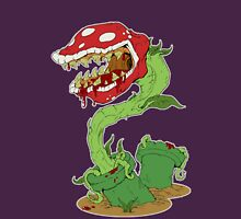 Bloodied Piranha Plant Unisex T-Shirt