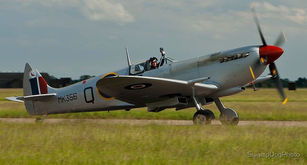 Spitfire Wave by SwampDogPhoto