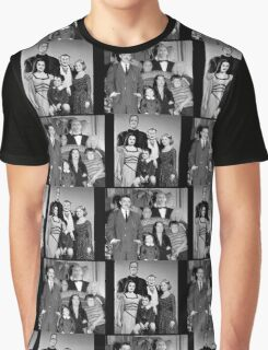 The Munsters and The Addams Family Graphic T-Shirt