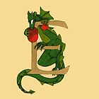"""Oscar and the Roses """"E - tail"""" (Illustrated Alphabet) by Donna Huntriss"""