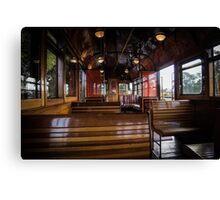 Jimmy possum Tram - interior Canvas Print