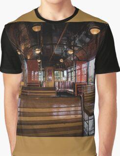 Jimmy possum Tram - interior Graphic T-Shirt