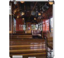 Jimmy possum Tram - interior iPad Case/Skin
