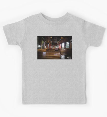 Jimmy possum Tram - interior Kids Tee