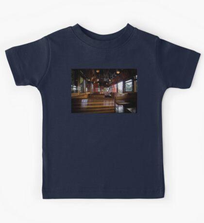 Jimmy possum Tram - interior Kids Tee