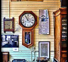 Old train Station by Bill Gorman