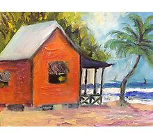 cottage on the Gulf of Mexico Photographic Print
