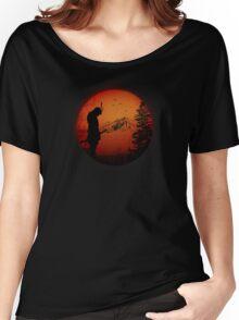 My Love Japan / Samurai warrior / Ninja / Katana Women's Relaxed Fit T-Shirt