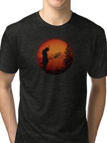 My Love Japan / Samurai warrior / Ninja / Katana Tri-blend T-Shirt