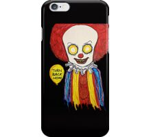Pennywise from Stephen King's IT iPhone Case/Skin