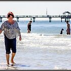 Wading in Clearwater by Mikell Herrick
