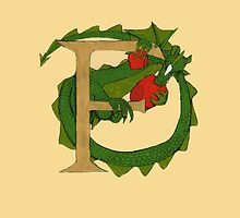 "Oscar and the Roses ""F"" (Illustrated Alphabet) by Donna Huntriss"