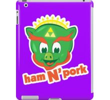 Ham n pork iPad Case/Skin