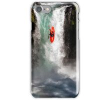 Extreme Waterfall Kayaking iPhone Case/Skin