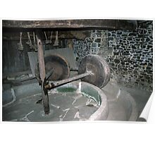 Millstone in Hambaye Abbey 19840219 0046  Poster