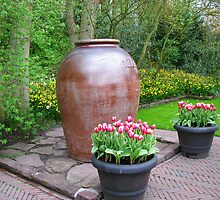 Giant Vase - Keukenhof Gardens by MidnightMelody