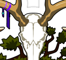 The Druid (outlined) Sticker