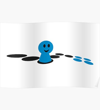 Game board VRS2 Poster