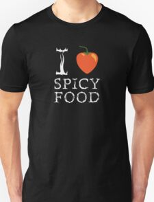 I Love Spicy Food T-Shirt