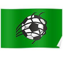 Goal - Soccer Ball in the Net VRS2 Poster