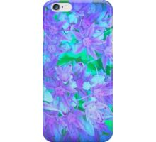 Blue And Purple Summer iPhone Case/Skin