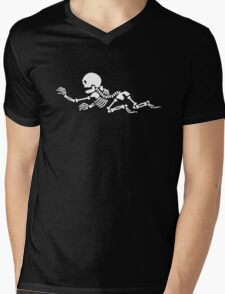 Crawling Skeleton VRS2 Mens V-Neck T-Shirt