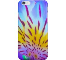 Blue And Yellow Flower Petals iPhone Case/Skin