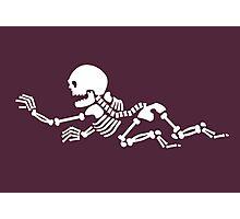 Crawling Skeleton VRS2 Photographic Print