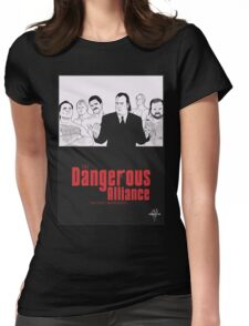 DANGEROUS ALLIANCE - Faction. Redefined. Womens Fitted T-Shirt