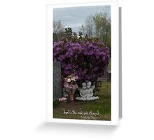 Sweet Angels - Spirit is real and eternal Greeting Card