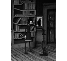 Lenore and The Raven Photographic Print