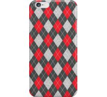 Winter time Diamond Plaid on yourself iPhone Case/Skin