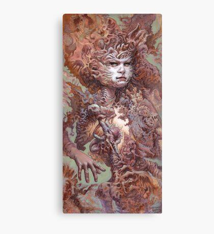Interwoven Canvas Print