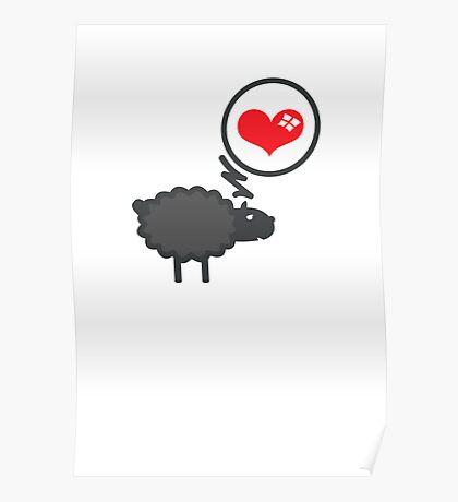 Black Sheep in Love VRS2 Poster