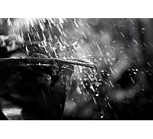 Rain on a Vase Photographic Print