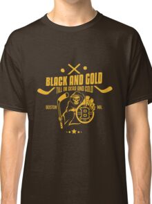 Black and gold - Boston Bruins Classic T-Shirt