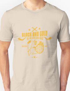 Black and gold - Boston Bruins Unisex T-Shirt
