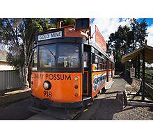 Bendigo tram #918 - The Jimmy Possum Photographic Print