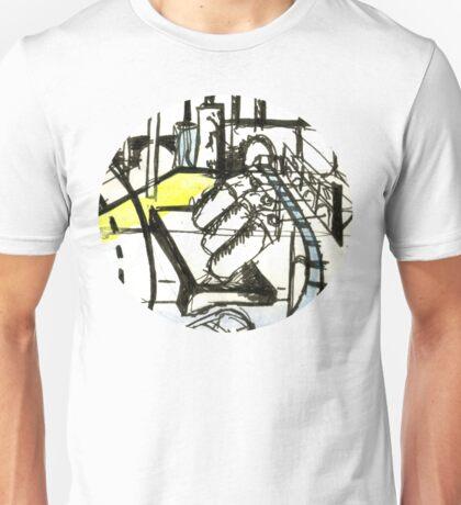 Industrial Landscape Unisex T-Shirt