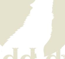 Blaidd Drwg Sticker