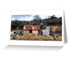 KEEP OUT!!  Hill End NSW Australia Greeting Card