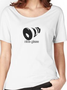 nice glass Women's Relaxed Fit T-Shirt