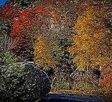 Fall Colors Airbrush by Judy Vincent